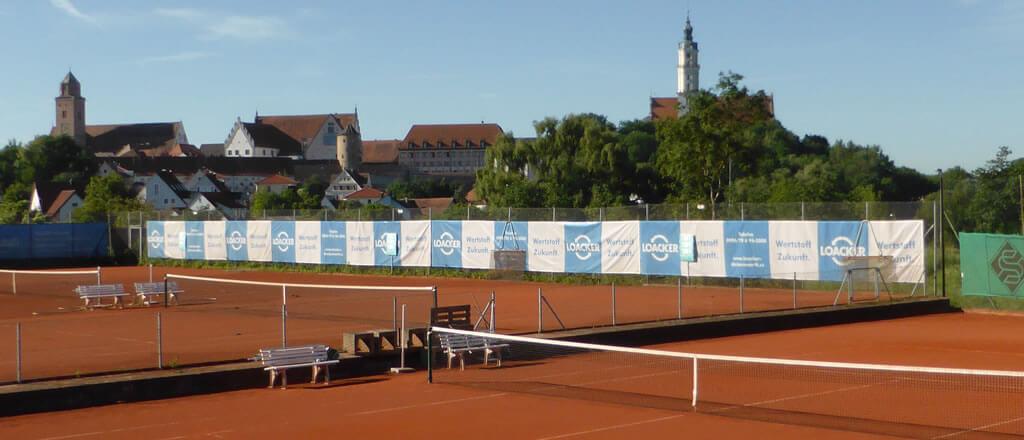 Tennisplatz Tennisclub Donauwörth